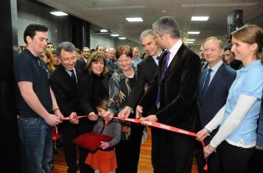 Laurent Wauquiez inaugure l'Iéseg