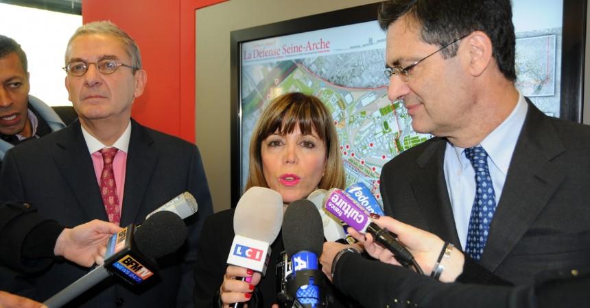 Joëlle Ceccaldi Raynaud élue présidente de l'EPAD