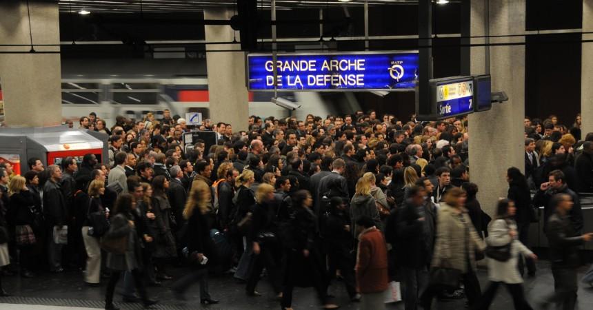 Grève sur le RER A