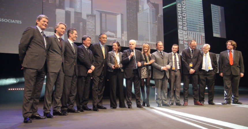La tour First reçoit un MIPIM Awards