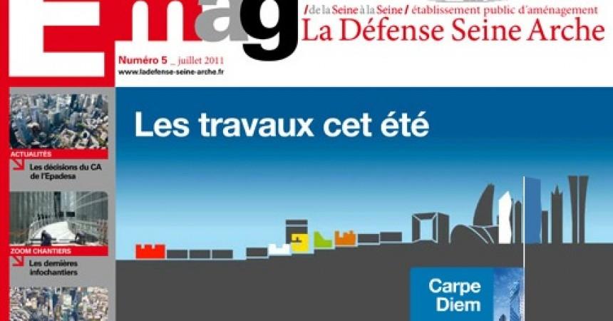 L'EPADESA publie le cinquième numéro de E-mag