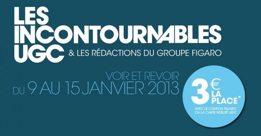 Les Incontournables UGC reviennent en 2013 au Ciné Cité La Défense