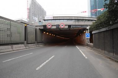 Fermeture du tunnel de l'A14 sous La Défense en août