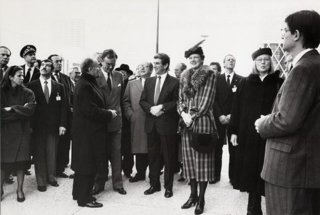 Le sommet du G7 à la Grande Arche du 14 juillet au 17 juillet 1989.