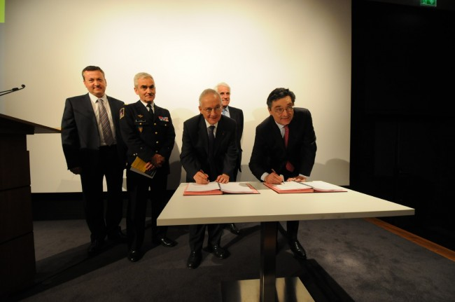 La signature du PMSD ©Defense-92.fr