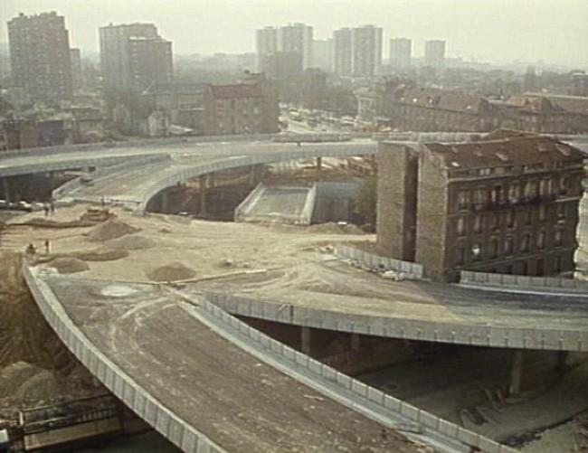 Construction du boulevard circulaire