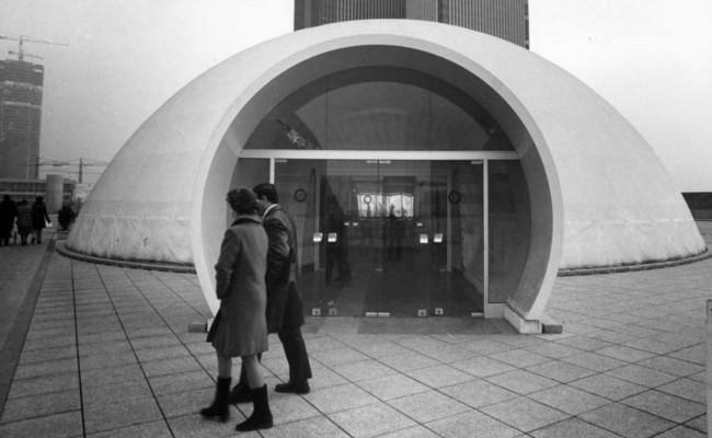 Le première espace info-Défense en 1974