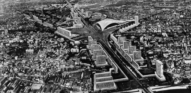 Le projet de La Défense en 1955