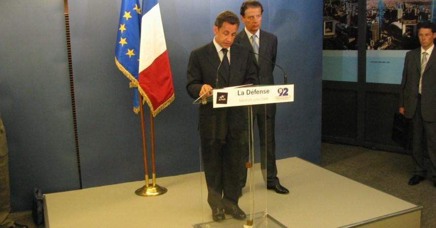 Nicolas Sarkozy élu président du conseil d'administration de l'Epad