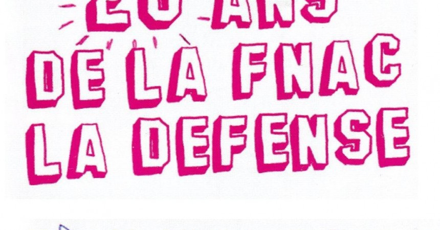 La Fnac Défense souffle ses 20 bougies