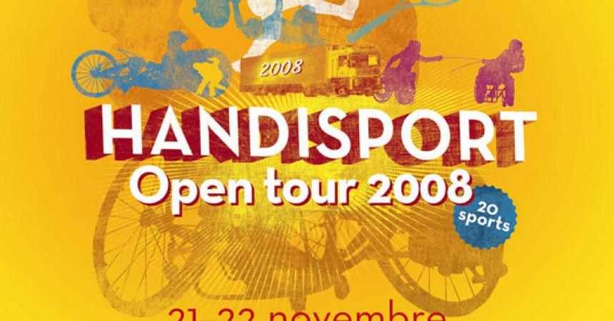 Handisport Open tour 2008