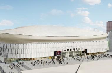 Le futur stade de l'Arena 92 a un architecte