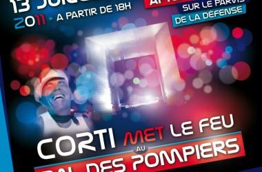 Les pompiers vous invite à fêter le 14 Juillet sur le Parvis