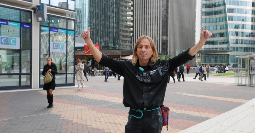 Alain Robert escaladera la tour First le 10 mai prochain