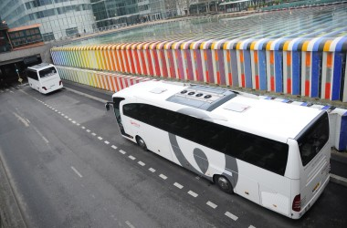 Un nouvel espace-pose pour bus touristique ouvre