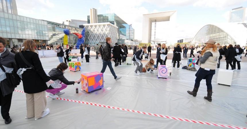 Les salariés de La Défense invités à fêter leurs entreprises