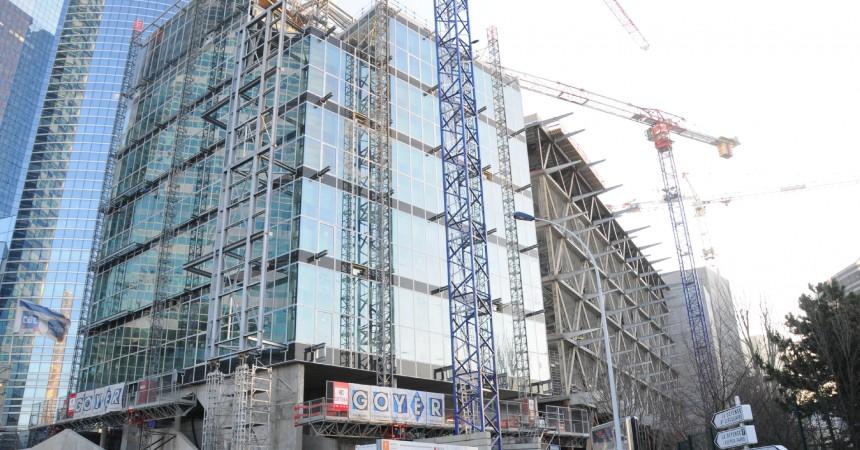 Un ouvrier du chantier de l'immeuble Basalte se tue