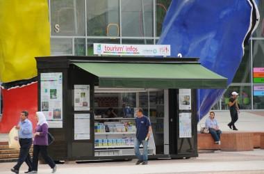 Il n'y aura pas de Kiosque pour accueillir les touristes cet été