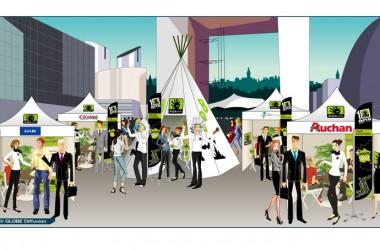 Keljob.com installe sonvillage de recrutement à La Défense