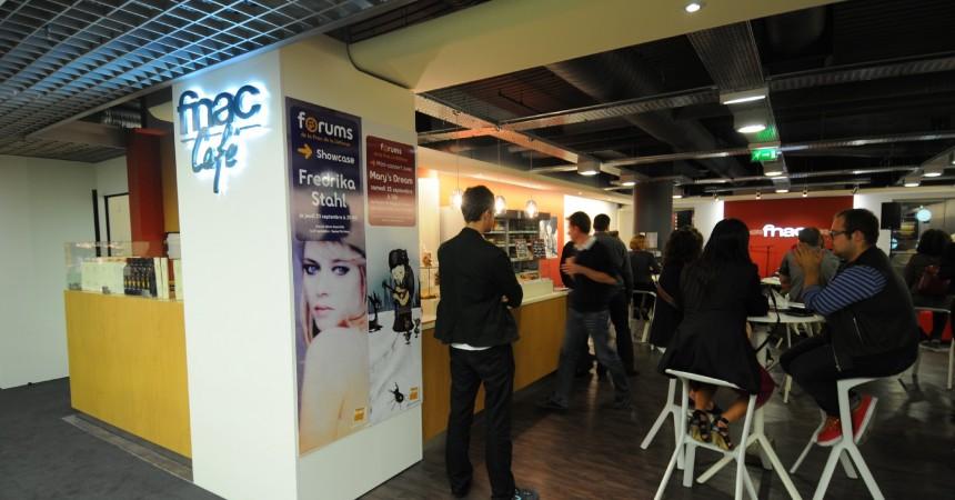 La Fnac de La Défense inaugure son Forum et Fnac Café