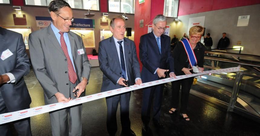 Un nouvel accès pour la gare de Nanterre-Préfecture