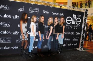 Six filles retenues au casting Elite Model