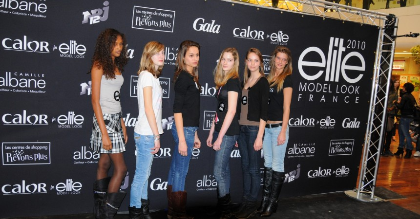 Six filles retenues au casting Elite Model