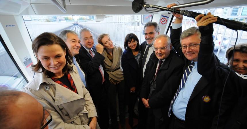 Les premières rames automatiques de la ligne 1 accueillent leur voyageurs