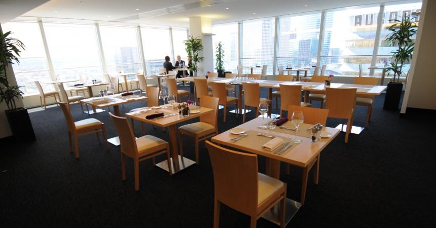 Un restaurant au 26ème étage de la tour Manhattan
