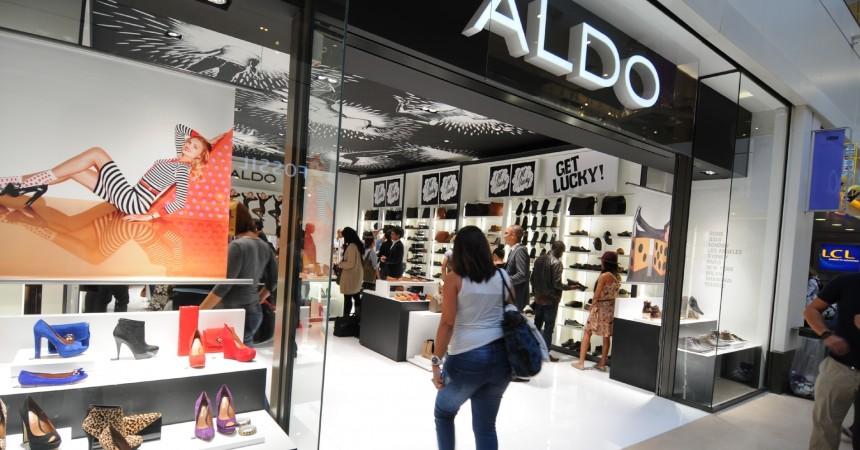 Première boutique Aldo en France aux Quatre Temps