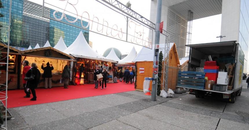 Le marché de Noël de La Défense a fermé ses portes