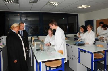 Inauguration du collège les Renardière et du lycée Lucie Aubrac