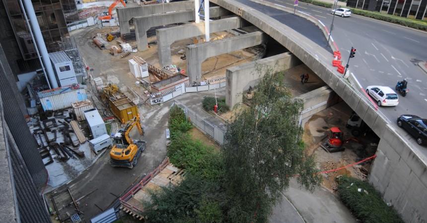 L'EPADESA construit une plateforme pour les chantiers Aire2, D2 et Générali