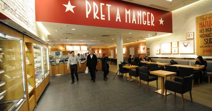 Prêt A Manger ouvre son premier restaurant français aux Quatre Temps