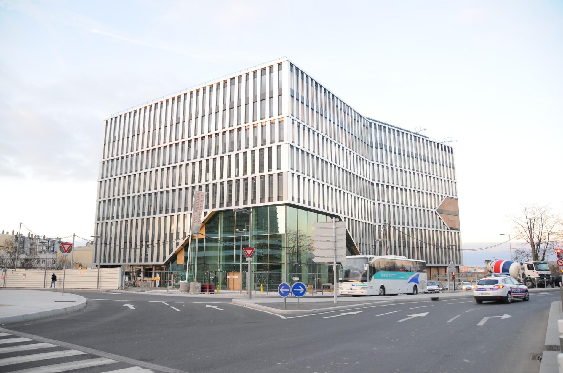 L EPADESA prend ses quartiers dans l immeuble Via Verde