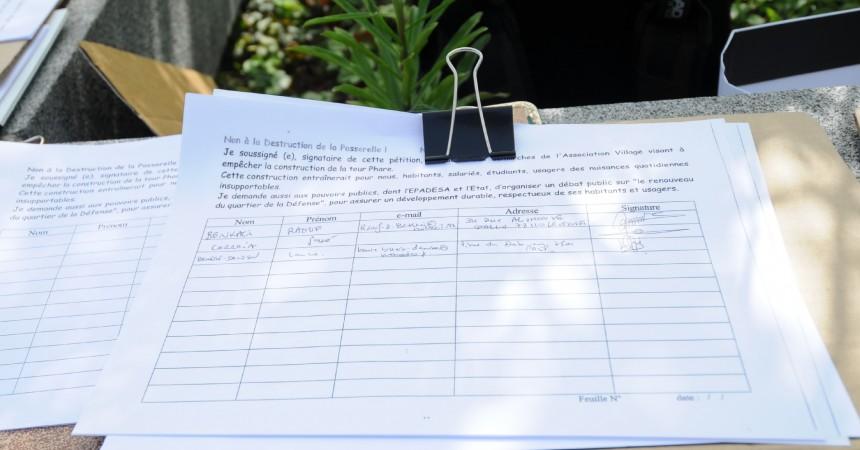 3 222 signataires contre la tour Phare