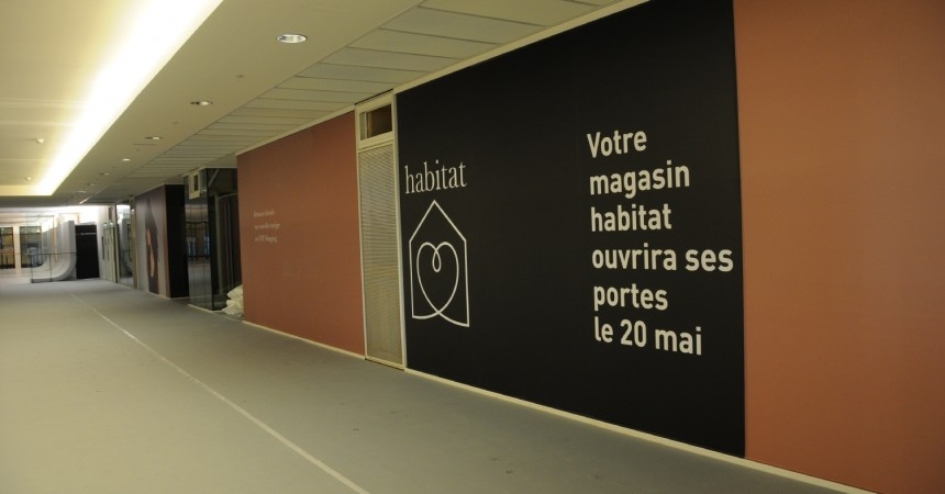 Habitat ouvre une nouvelle boutique au cnit defense - Magasin habitat paris ...