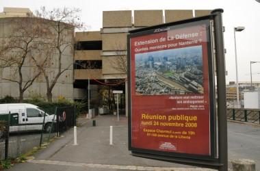 La mairie de Nanterre s'organise contre l'extension de La Défense