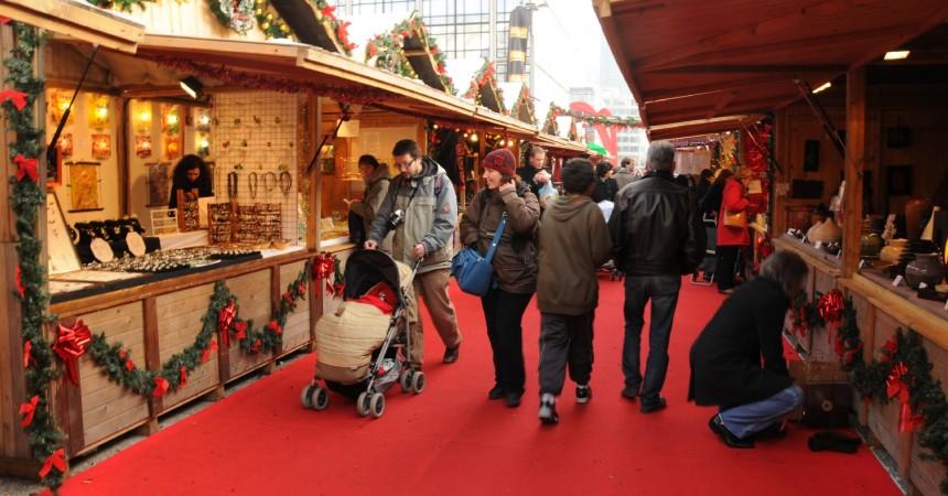 Quinzième édition du marché de Noël à La Défense