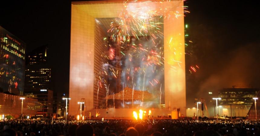 30000 personnes pour le spectacle pyrotechnique