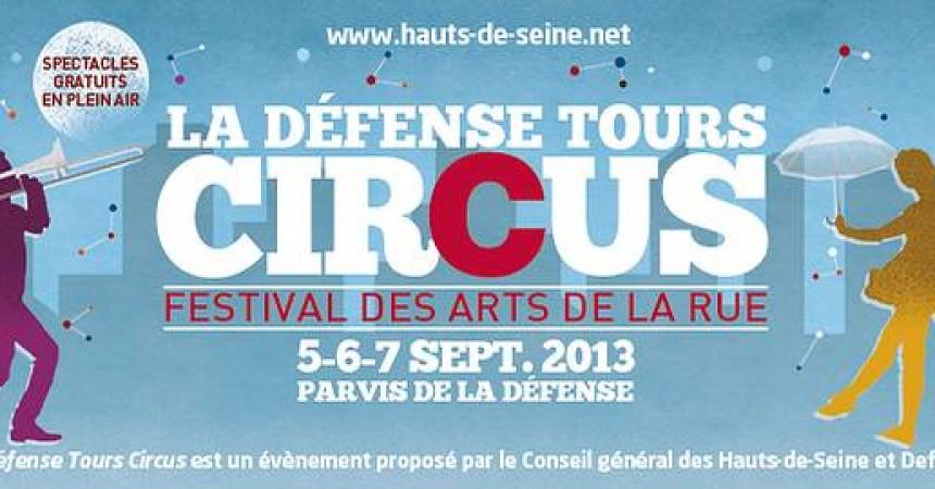 La Défense Tours Circus revient pour la troisième fois