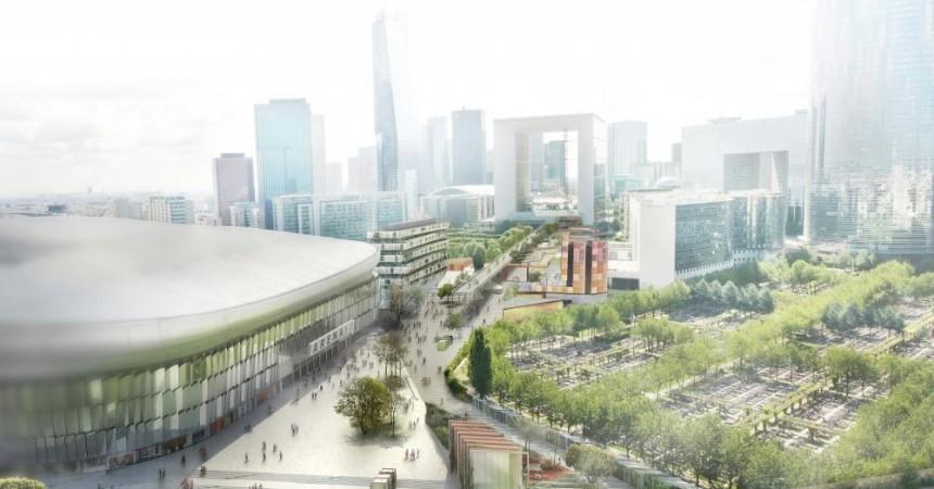 Les projets des jardins de l'Arche toujours suspendus au recours de l'Aréna 92