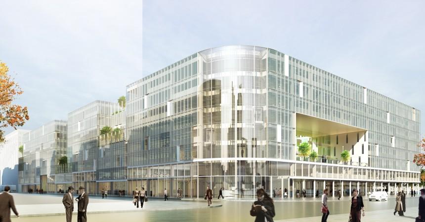 Silic présente son projet «Campus La Défense»