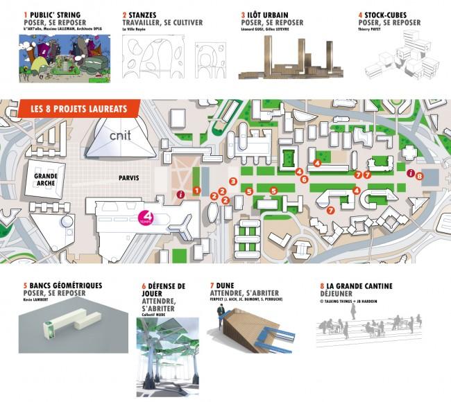 Le plan de la Biennale