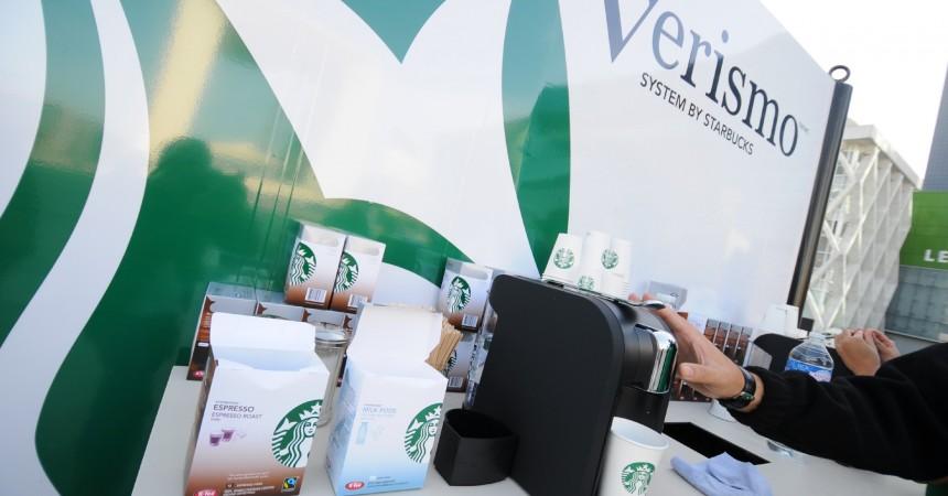 Starbucks investit La Défense pour faire découvrir sa nouvelle machine à capsules Verismo
