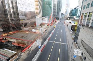 Neutralisation et fermeture du boulevard circulaire nord
