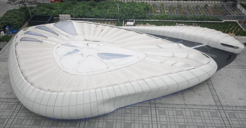 Le Mobile Art de Zaha Hadid prendra ses quartiers près de l'Arena 92