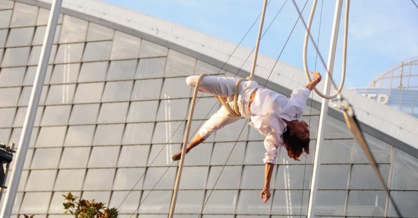 La Défense fête les arts du cirque