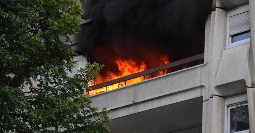 Un incendie ravage un appartement de la résidence Leclerc