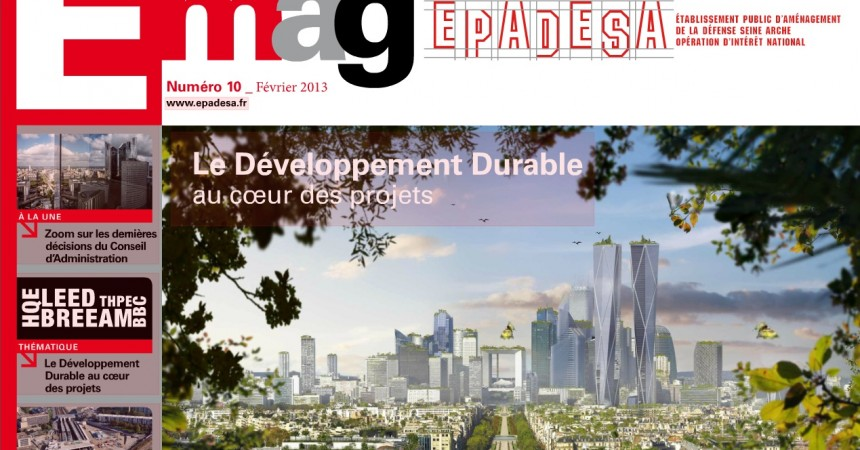 L'EPADESA publie le dixième numéro de E-mag